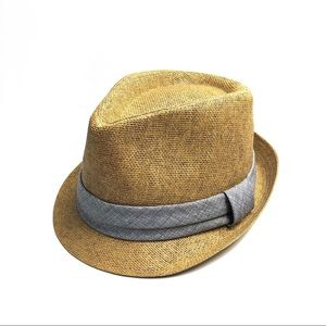 GOODFELLOW & CO Fedora Hat Natural & Gray